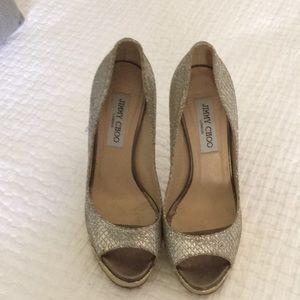Super high heels worn once